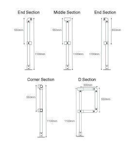 Tube Clamp Handrail Kits