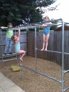 Monkey Bars Climbing Frame